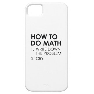 How To Do Math iPhone SE/5/5s Case