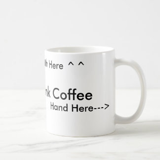 How to drink coffee for right handed people coffee mugs