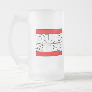 how to dubstep-DUBSTEP dance-dubstep music mp3 Frosted Glass Beer Mug