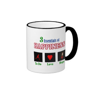 How to find happiness ringer coffee mug