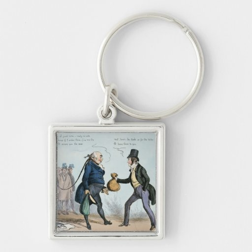 How to get made an MP, 19th July 1830 Keychain