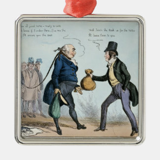 How to get made an MP, 19th July 1830 Metal Ornament