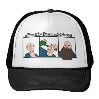 HOW TO GROW A BEARD TRUCKER HAT