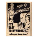 """""""How To Hypnotize""""  Postcard"""