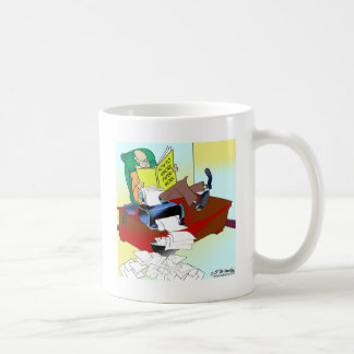 How To Ignore Paperwork Coffee Mug