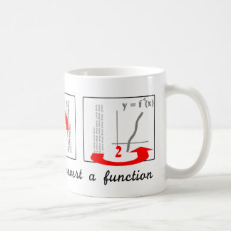 How to Invert a Function Coffee Mug
