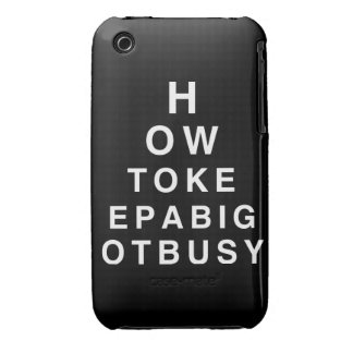 HOW TO KEEP A BIGOT BUSY iPhone 3 Case-Mate CASES