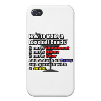 How To Make a Baseball Coach iPhone 4/4S Case