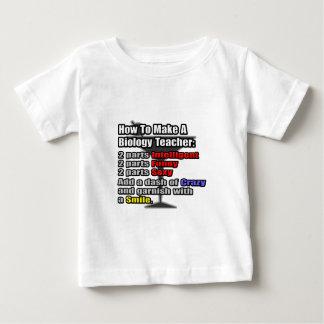 How To Make a Biology Teacher Baby T-Shirt