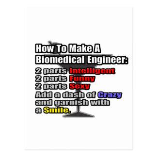 How To Make a Biomedical Engineer Postcard