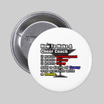 How To Make a Cheer Coach 2 Inch Round Button