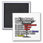 How To Make a Cheer Coach Magnet