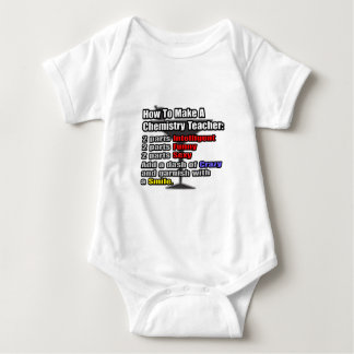 How To Make a Chemistry Teacher Baby Bodysuit