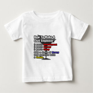 How To Make a Civil Engineer Baby T-Shirt