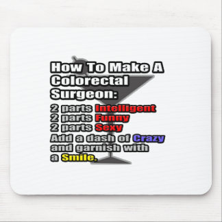 How To Make a Colorectal Surgeon Mousepads