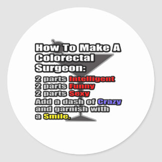 How To Make a Colorectal Surgeon Stickers