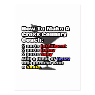 How To Make a Cross Country Coach Postcard