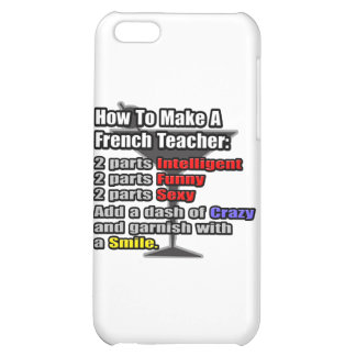 How To Make a French Teacher iPhone 5C Cases