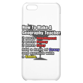 How To Make a Geography Teacher Cover For iPhone 5C