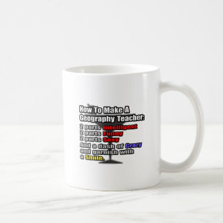 How To Make a Geography Teacher Mugs