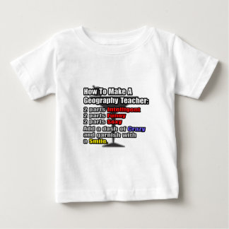 How To Make a Geography Teacher Shirt