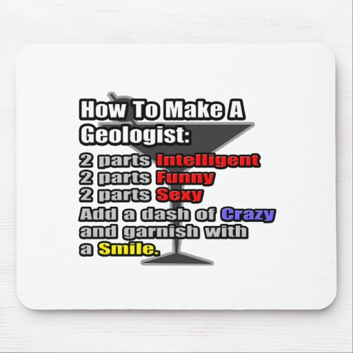 How To Make a Geologist Mouse Pad