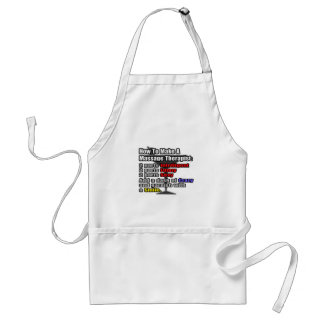 How To Make a Massage Therapist Adult Apron
