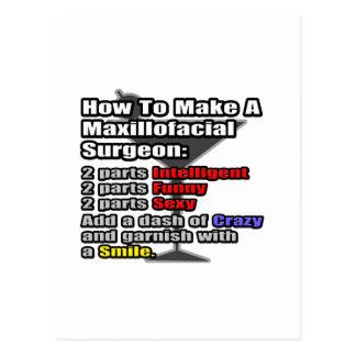 How To Make a Maxillofacial Surgeon Postcard
