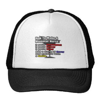 How To Make a Neonatal Nurse Trucker Hats