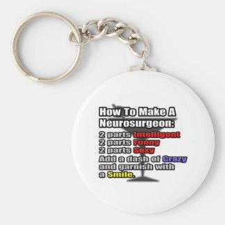 How To Make a Neurosurgeon Basic Round Button Keychain
