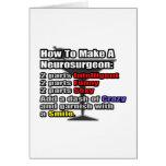 How To Make a Neurosurgeon Card