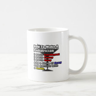 How To Make a Pediatrician Coffee Mug
