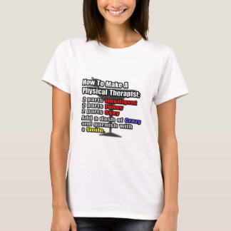 How To Make a Physical Therapist T-Shirt