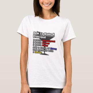 How To Make a Principal T-Shirt