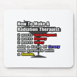 How To Make a Radiation Therapist Mouse Pad