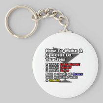 How To Make a Special Ed. Teacher Keychain