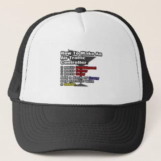 How To Make an Air Traffic Controller Trucker Hat
