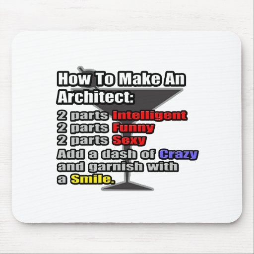 How To Make an Architect Mouse Pad