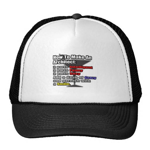 How To Make an Architect Trucker Hat