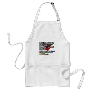 How To Make an Attorney Adult Apron