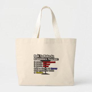 How To Make an Economics Teacher Tote Bag