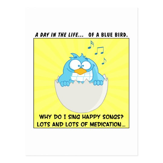 How to Make Employees Sing Like Happy Blue Birds Postcard
