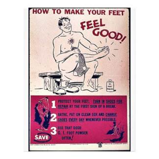 How To Make Your Feet Feel Good! Flyer