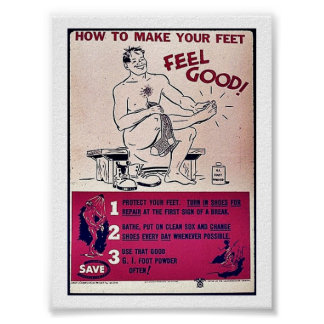 How To Make Your Feet Feel Good! Poster