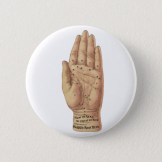 How To Read Palms Pinback Button