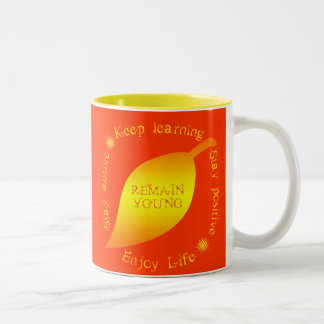 How to Remain Young! Mug for seniors