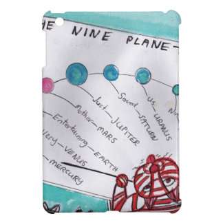 How to remember the nine planets case for the iPad mini