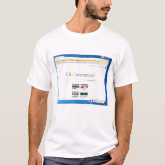 How to restart the US Government T-Shirt