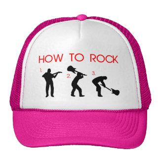 HOW TO ROCK TRUCKER HAT
