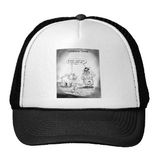 How To Scare A Big Dog Funny Cartoon Gifts & Tees Trucker Hat